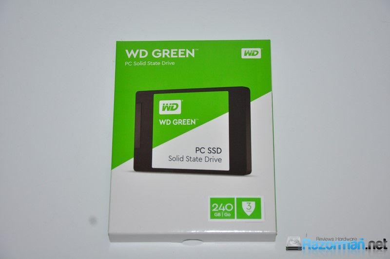Review WD Green SSD 240 GB – Razorman.net . Reviews Hardware