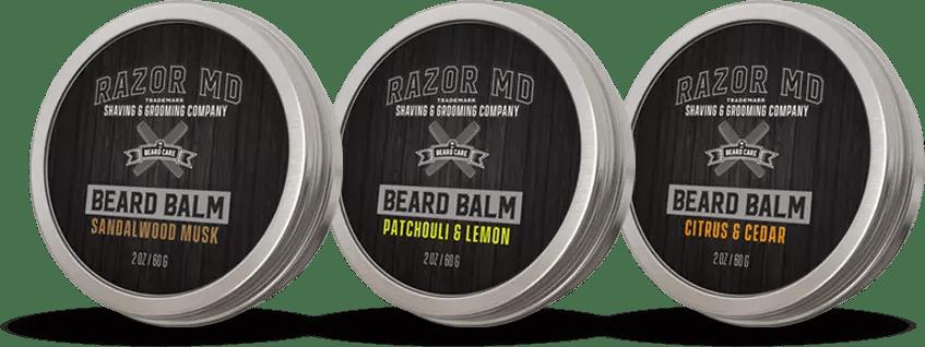 Beard balms collection