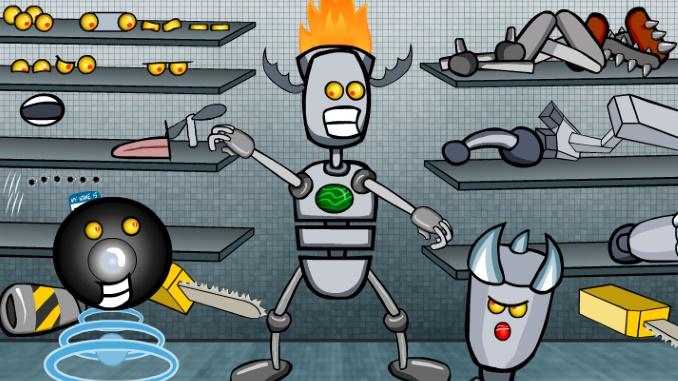 Robot Builder Game Unblocked