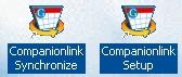 CompanionLink Synchronise/Setup