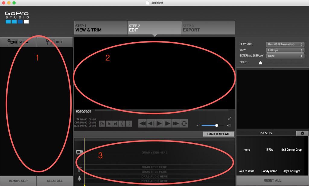 GoPro Studio Edit