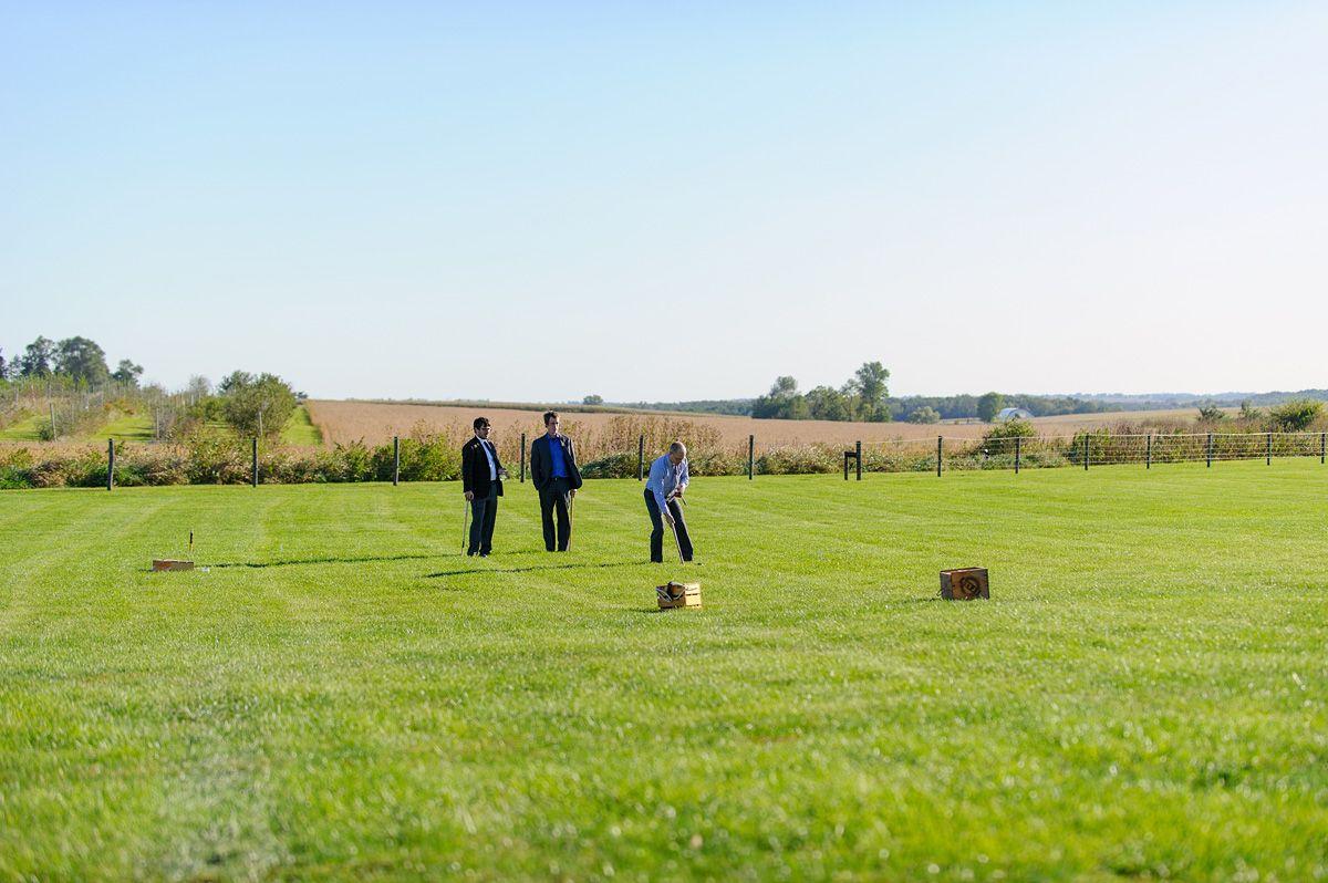 sutliff cider wedding - beautiful lawn