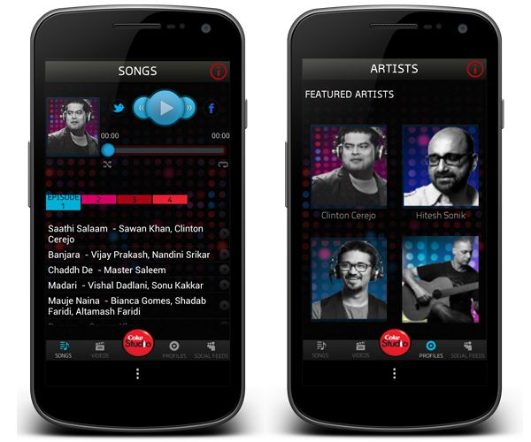 Coke Studio App for Android