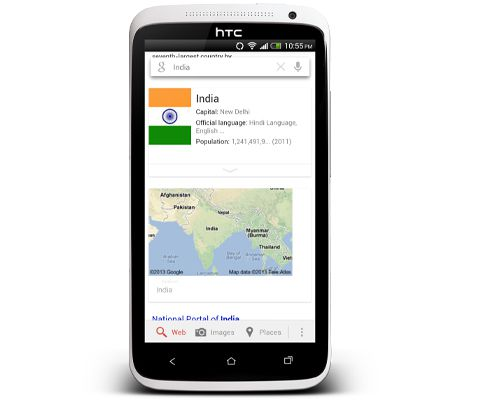 Google Now Cards India