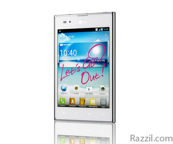LG Optimus Vu launched in India