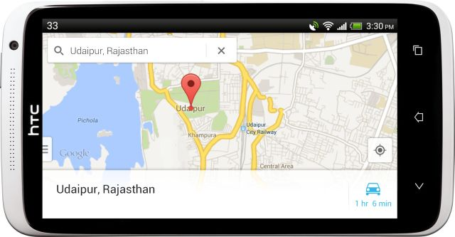 new Google Maps for Android