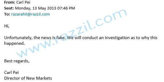 Find 5 India launch News is FAKE