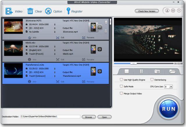WinX Mobile Video Converter