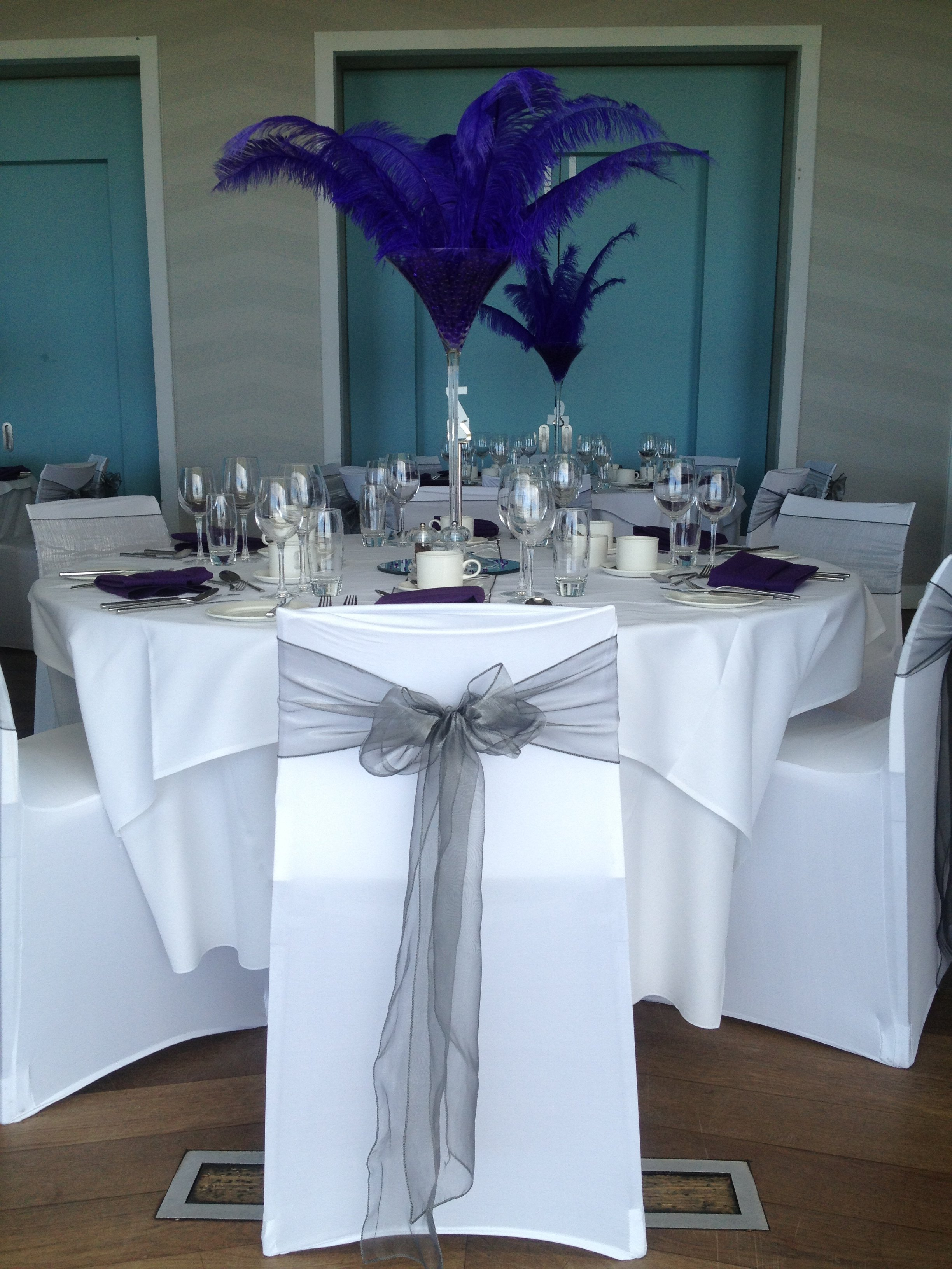 chair covers morecambe rolling office on wood floors masquerade ball decorations razzle dazzle wedding and