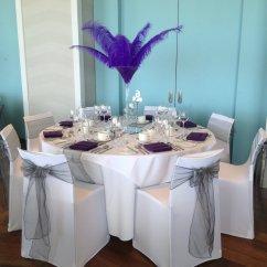 Chair Covers Morecambe Wicker Rattan And Ottoman Masquerade Ball Decorations Razzle Dazzle Wedding