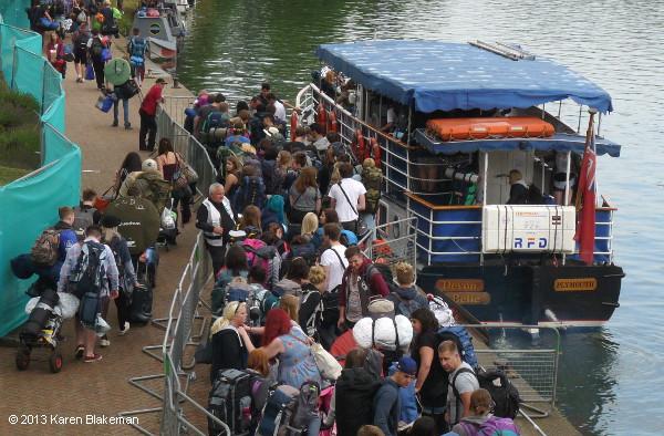 Image result for reading festival boat
