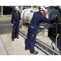 Engineers on motor repair inspections