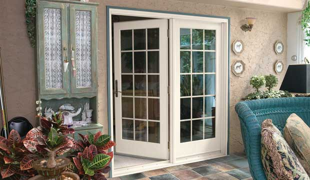 Center Hinged Patio Door