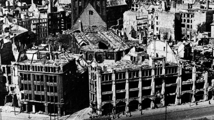 Kriegsschden in Berlin  Zerstrung in Zahlen  rbb24