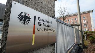 Archivbild: Das Bundesamt für Migration und Flüchtlinge (BAMF) in Nürnberg (Quelle: dpa/Armin Weigel)