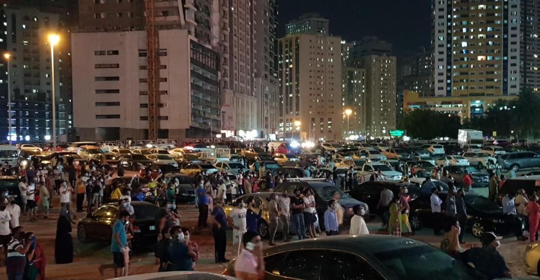 В ОАЕ загорівся 45-поверховий хмарочос з квартирами: лякаюче відео