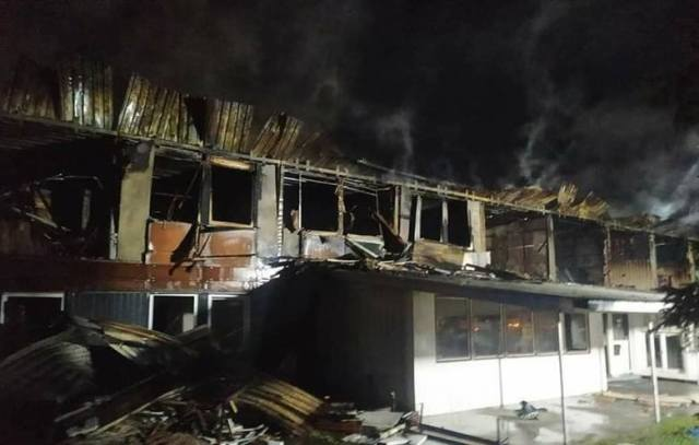В Польше подожгли хостел с украинцами: появились фото и детали