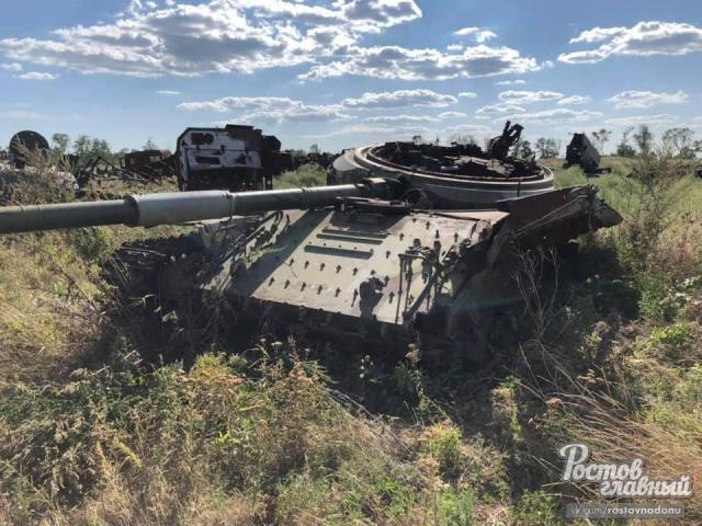Ни с кем не воюем: появились фото кладбища военной техники под Ростовом