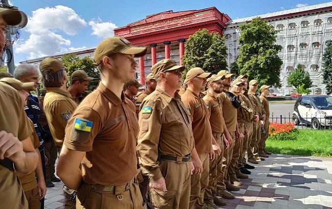 Підготовка до Маршу захисників України