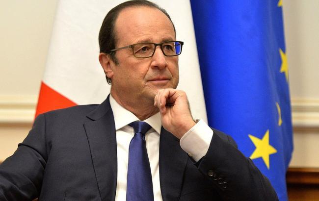 Олланд раскритиковал политику России в Украине и пригрозил новыми санкциями