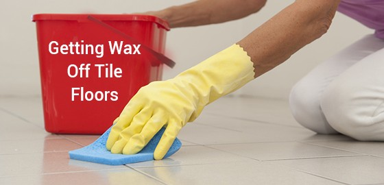 how to strip wax from tile floors