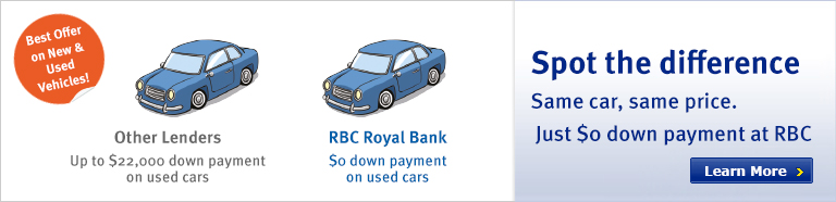 Royal Bank Personal Banking Sign
