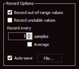 9103 Actuel Auto-save Feature