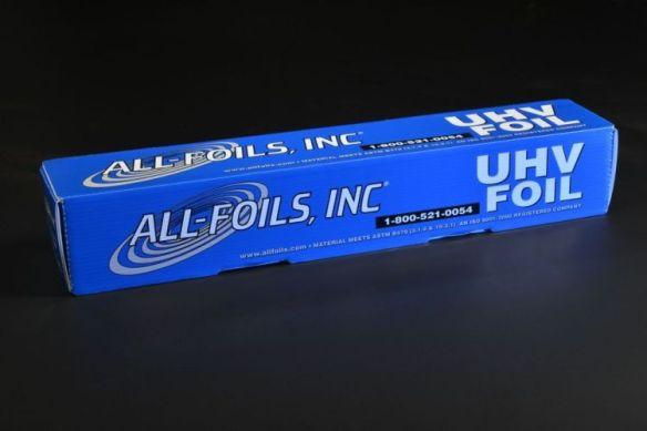 UHV aluminum foil