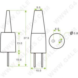 G4 Bi Pin Led Light Bulb 12 Volt LED Light Bulbs Wiring