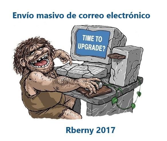 Envío masivo de correo electrónico Rberny 2017