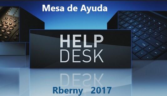 HelpDesk o mesa de Ayuda Rberny 2021