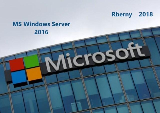 MS Windows Server 2016