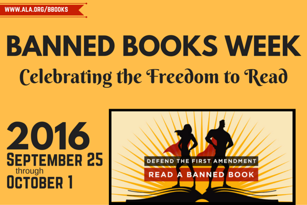 RBHS Celebrates the Freedom to Read