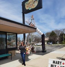 Mary Vasquez, owner of Mary's Morning Mix Up, has embraced a newfound Bohemian side to sustain her Brookfield eatery. (Melissa Elsmo/Contributor)