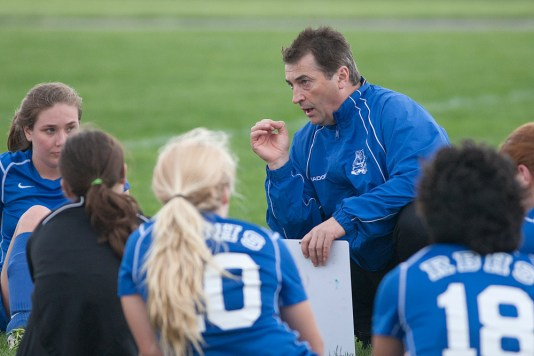 In just his third season taking over the RBHS girls soccer program, head coach Danny Makaric has brought in a wealth of promising talent as the Bulldogs have earned three straight second-place showings in the Metro Suburban Conference. (David Pierini/Staff Photographer)