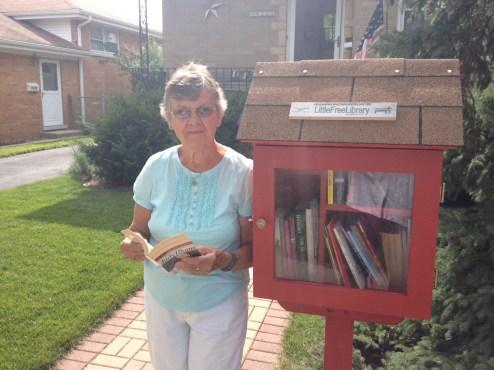 Jenny Jarosz's little library