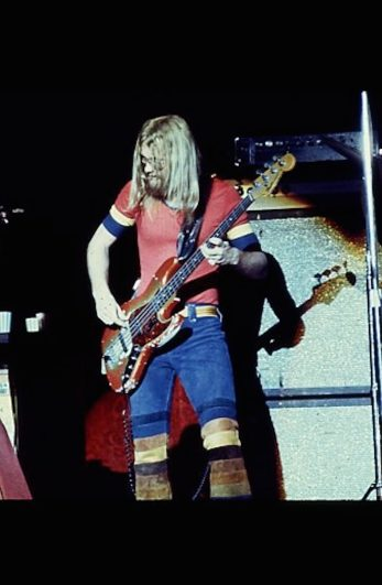 Dennis Johnson performs with Chase in Japan in 1972.