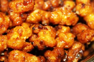 Hulless Caramel Corn with Bacon: it's so fluffy and won't stick in your teeth!