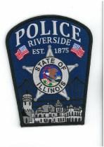 Riverside Police Patch