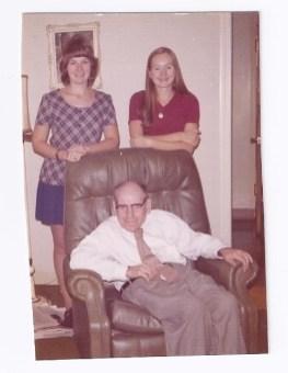 Brookfield sisters Barbara and Margi Sirovatka and their cousin their cousin, Ralph Haremski.