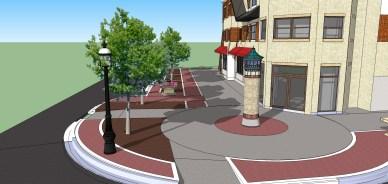 Burlington Street plan in August of 2014
