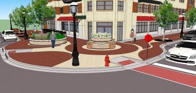Burlington Street plan in November of 2014
