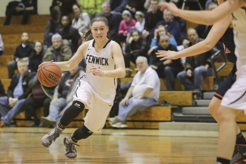Fenwick guard Jenny Mackowiak provides leadership, defense, ball handling and scoring for the Friars. She, along with several teammates, will need to perform at a high level to advance deeply in the Whitney Young Sectional. (Chandler West/Staff Photographer)