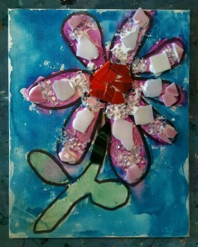 Campers at the RAC summer camp will have the opportunity to make mosaics.