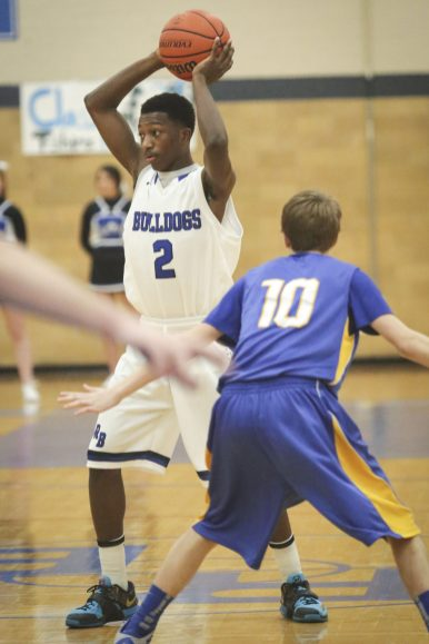 RBHS guard Jalen Clanton burst onto the scene last season with a superb sophomore campaign. The combo guard helped lead the Bulldogs to a first-ever supersectional appearance, sectional and conference championships and a 28-4 record (File photo)