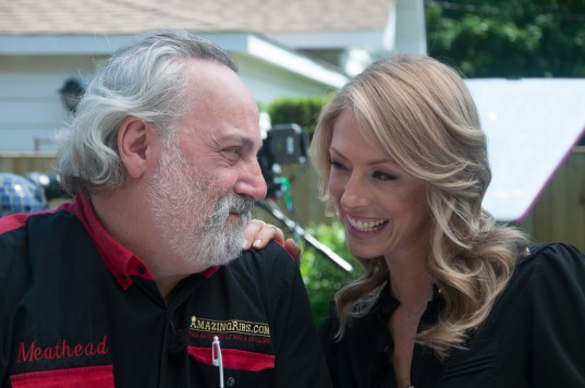 """Top Team: Craig """"Meathead"""" Goldwyn and Boston TV personality Jenny Johnson are co-hosts in a series of videos that will be rolled out, beginning later this month, on the art and science of grilling and smoking foods. 