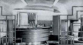 A view of the lounge car from 1940. | Photo courtesy of Wikipedia