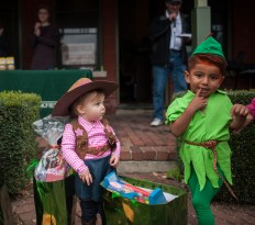 """Avery Gordon and Isaiah Gomez (left) won in the categories of """"cutest"""" and """"most creative."""" 