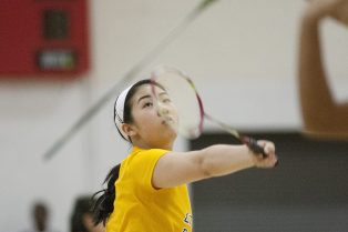 LTHS senior Stephanie Lin became the first badminton players in Illinois history to win three straight singles championships in 2015. (File photo)