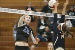 RBHS outside hitter Dana Rettke had 419 kills, 190 digs, 64 aces and 47 blocks to lead the Bulldogs to a 26-10 record and conference title in 2015. (File photo)